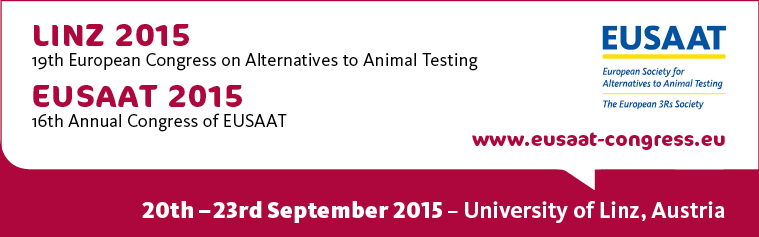 19th European Congress on Alternatives to Animal Testing, September 20-23 2015, University of Linz, Austria