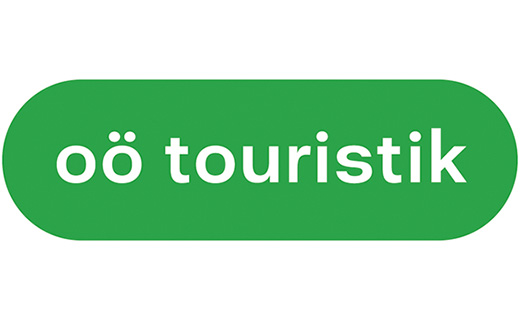 Logo Upper Austrian Touristik GmbH our partner for registration and accomodation